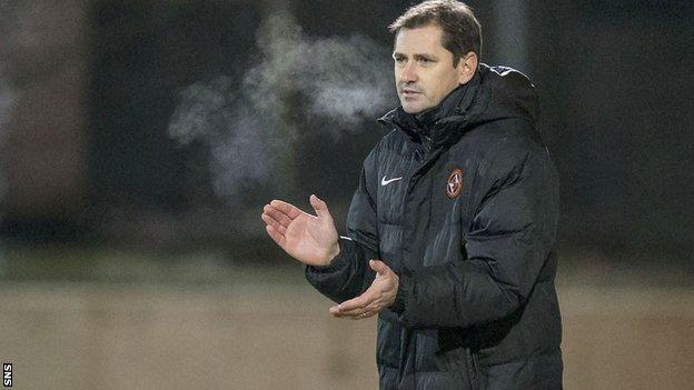 Jackie McNamara has been Dundee United manager since 2013