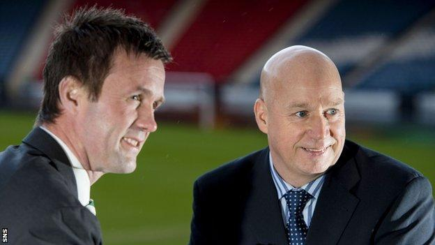 Ronny Deila and Kenny McDowall will manage in the first Old Firm match since 2012