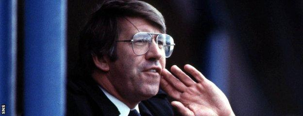 John Greig lamented that being Rangers manager was a lonely existence