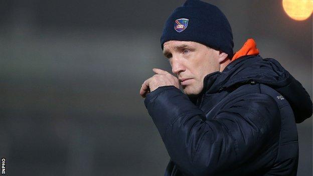 Armagh manager Kieran McGeeney