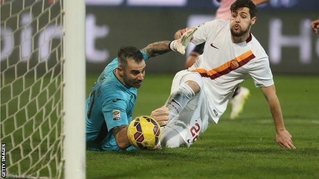 New AC Milan striker Mattia Destro