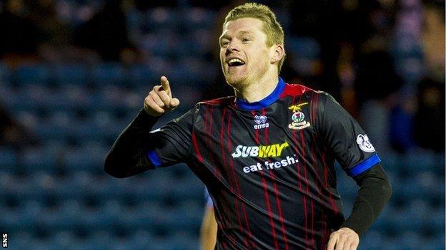 Billy Mckay has scored 10 goals this season