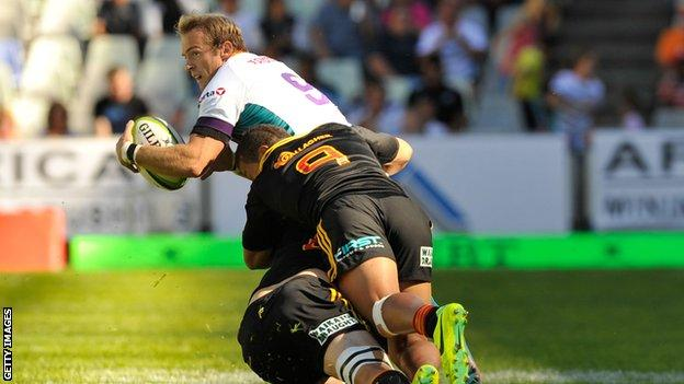 Scrum-half Sarel Pretorius has played more than 100 Currie Cup games