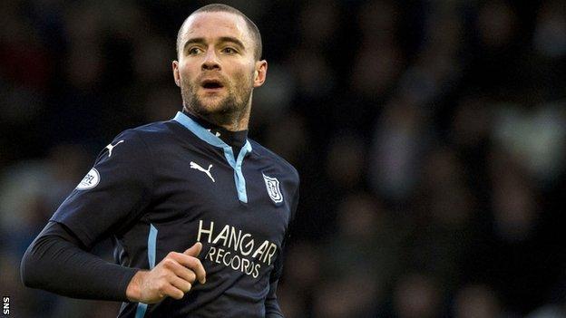Dundee defender James McPake