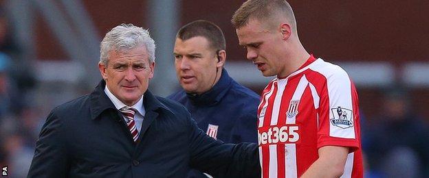 Stoke skipper Ryan Shawcross