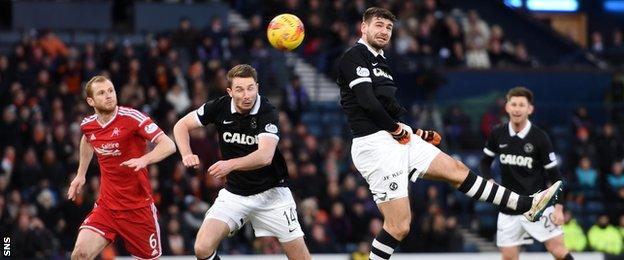 Nadir Ciftci scores the winner for Dundee United