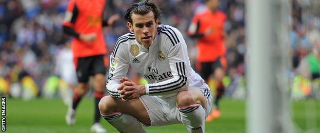 Real Madrid's Gareth Bale