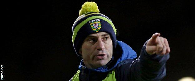 Rory Gallagher succeeded Jim McGuinness as Donegal manager last autumn