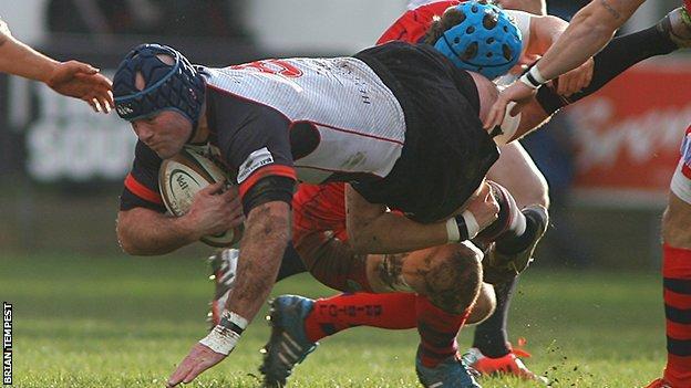 Cornish Pirates beating Bristol