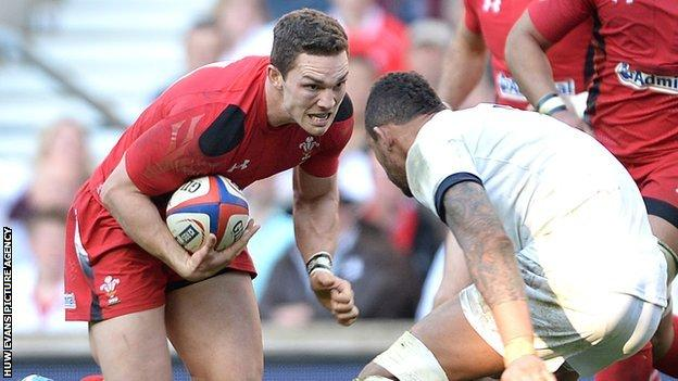 Northampton wing George North has won 45 Wales caps and three for the Lions
