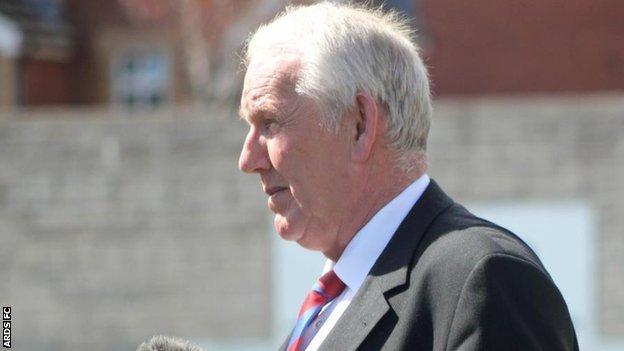 Ards chairman Brian Adams