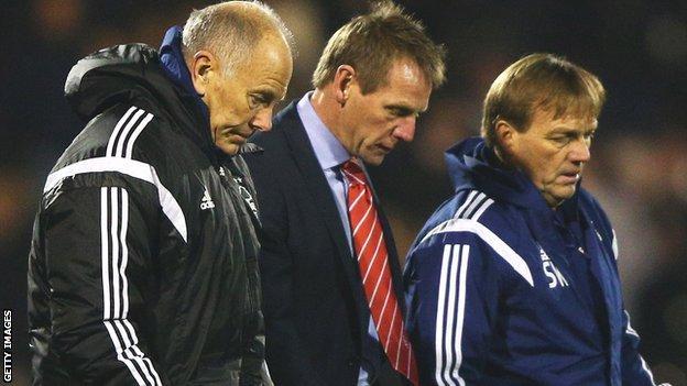 Brian Eastick, Stuart Pearce & Steve Wigley