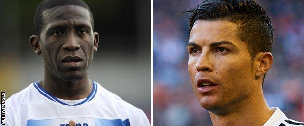 Hendry Thomas and Cristiano Ronaldo