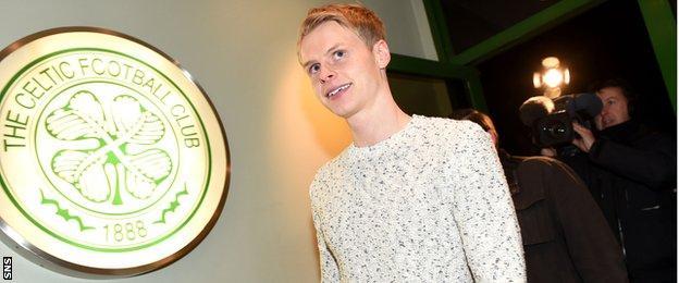 Celtic winger Gary Mackay-Steven