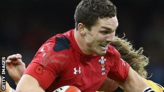 Wales rugby player George North