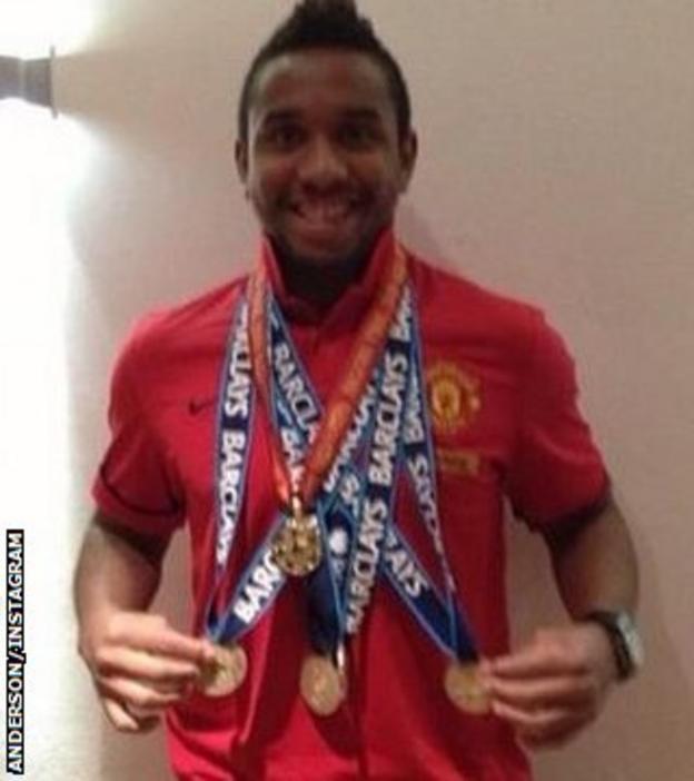 Internacional midfielder Anderson