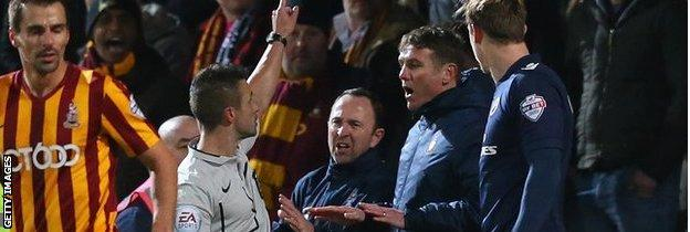 Phil Parkinson and Steve Parkin