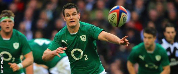 Ireland fly-half Johnny Sexton