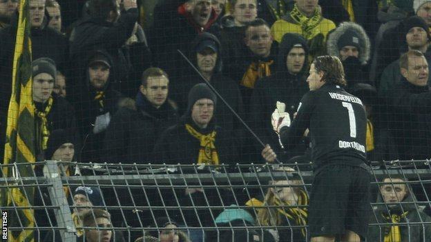 Borussia Dortmund's Roman Weidenfeller