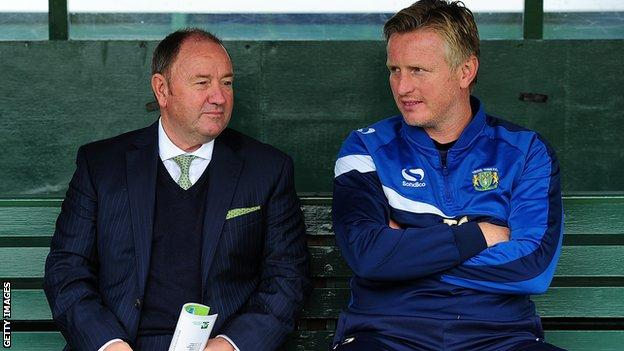 Gary Johnson and Terry Skiverton