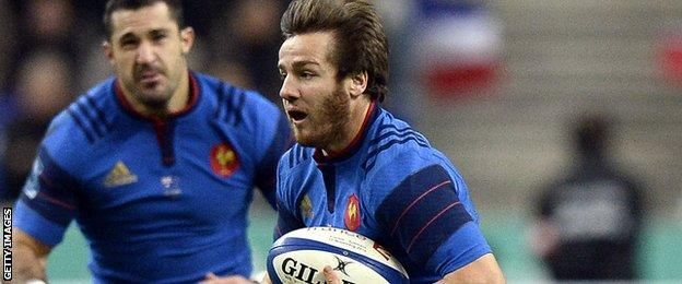 France fly-half Camille Lopez