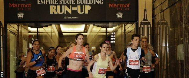 The Empire State Building race