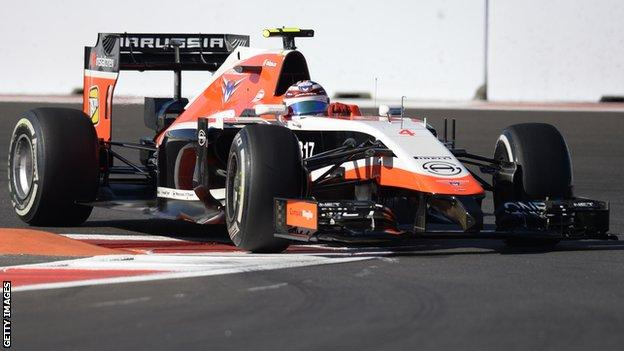 Marussia managed just two points in the 2014 campaign