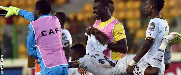 Ghana celebrate