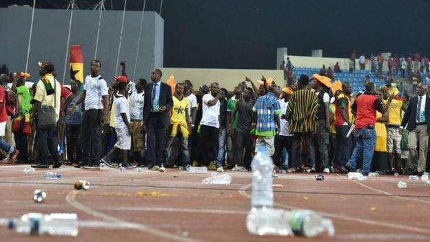Africa Cup of Nations: Semi-final was 'war zone', says Ghana FA