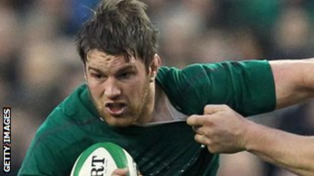 Ireland rugby player Sean O'Brien