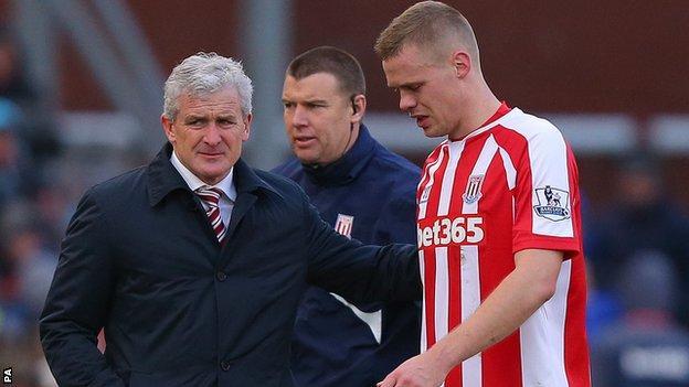 Stoke captain Ryan Shawcross