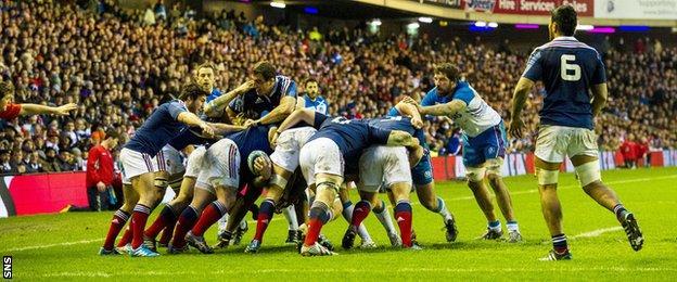 Scotland v France, 2014