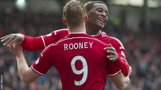 Aberdeen beat Ross County 4-0