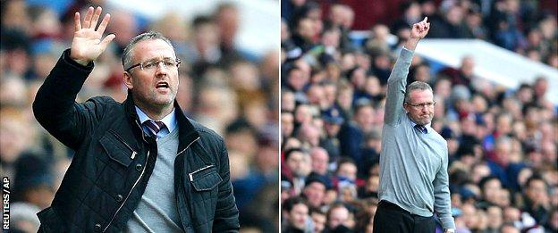 Paul Lambert, with and without jacket