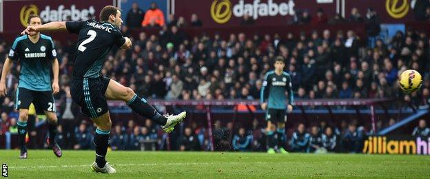 Branislav Ivanovic scores for Chelsea