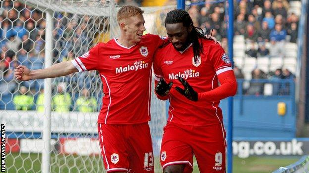Kenwyne Jones had given Cardiff an early lead at Sheffield Wednesday