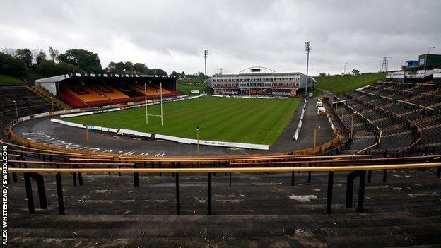 Odsal Stadium, Bradford