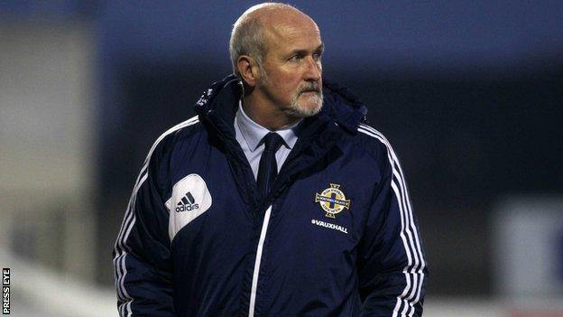Northern Ireland boss Alfie Wylie saw his team easily beaten by Scotland.