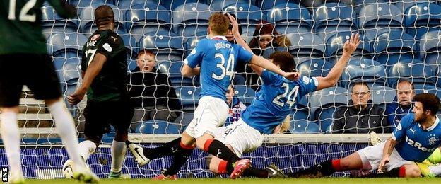 Christian Nade fired home the winning goal after a Steve Simonsen and Ricky Foster failed to clear.