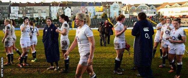 England Women rugby team