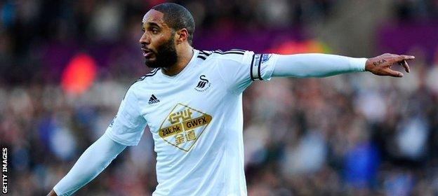 Centre-back Ashley Williams has made almost 300 appearances for Swansea