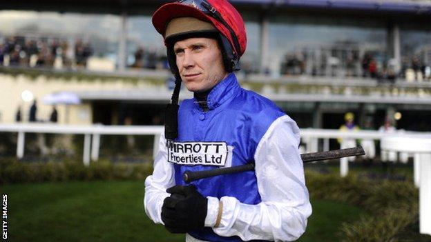 Jockey Richard Johnson