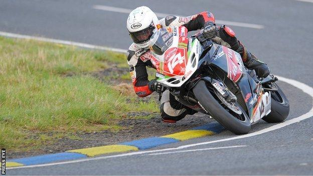 Manx motorcycle racer Dan Kneen