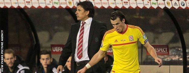 Chris Coleman and Gareth Bale