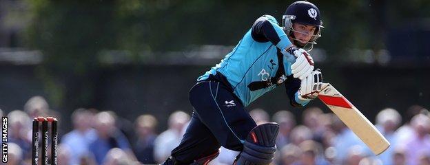 Matt Machan hit 86 against a strong New Zealand XI in October