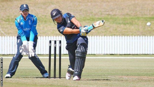 New Zealand captain Suzie Bates hits out against England