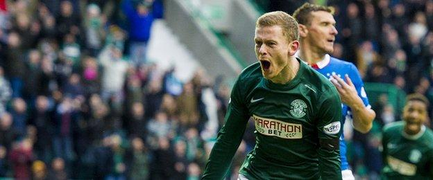 Rangers fell to a 4-0 defeat at Easter Road in December, Hibs most impressive win under Alan Stubbs to date.