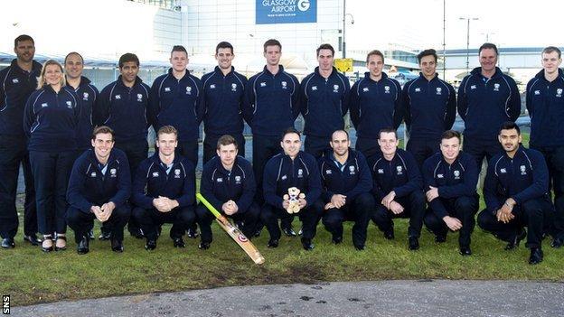 Scotland's 2015 World Cup squad