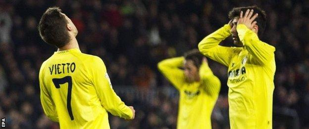 Villarreal players