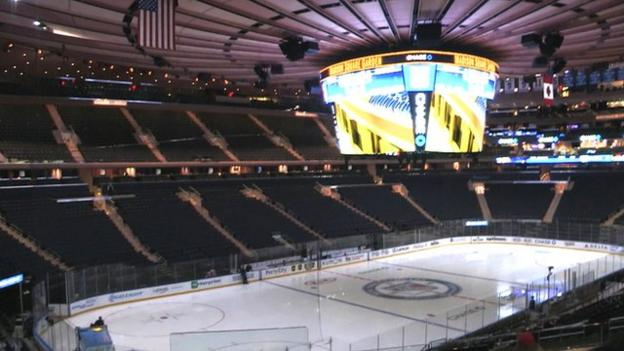 Nba All Star Game A Tour Round Madison Square Garden Bbc Sport